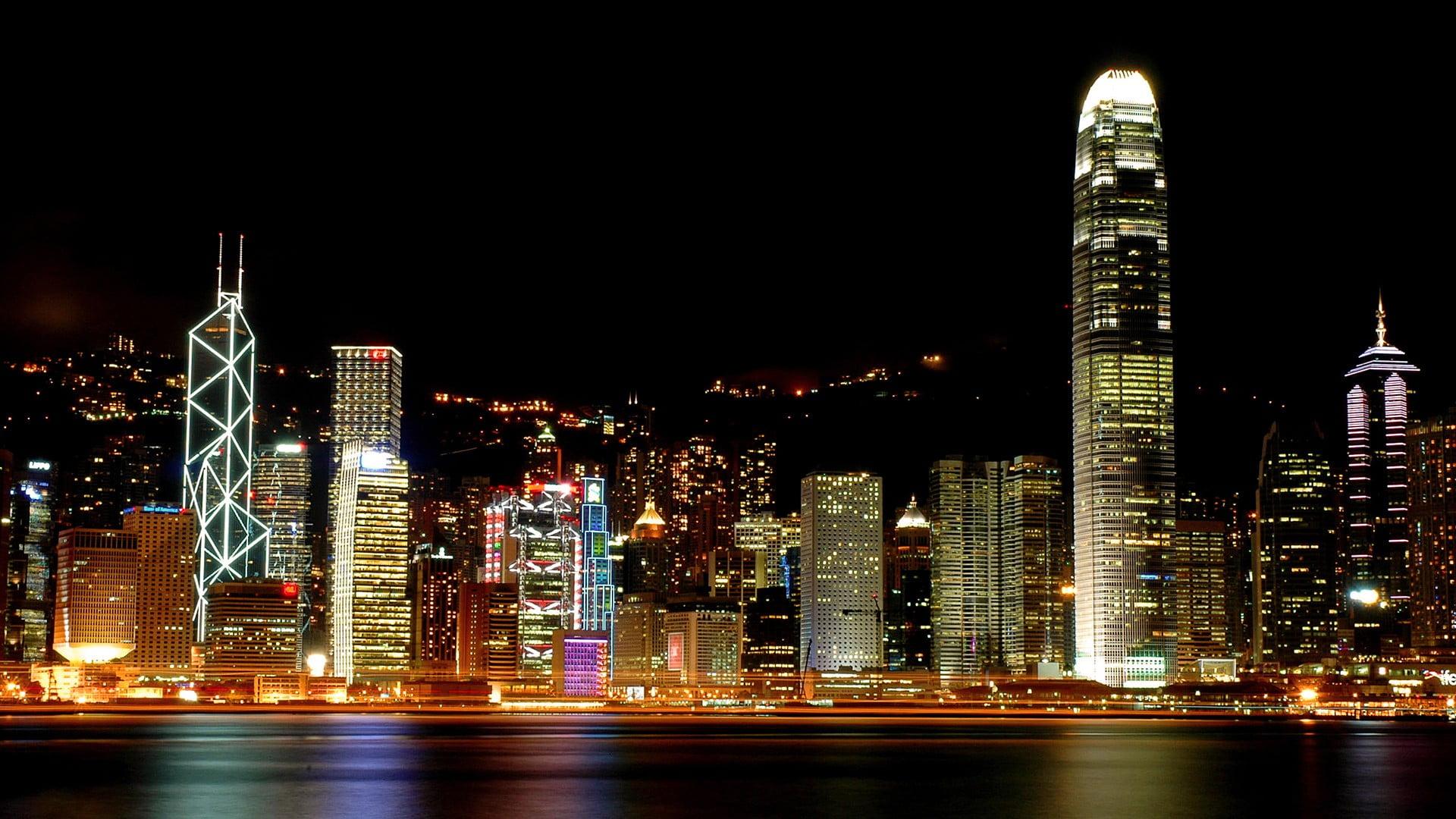 skyline-night-victoria-harbour-hong-kong-wallpaper